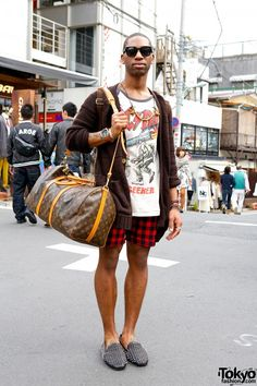 Brandon is a friendly high-school English teacher in Japan Purple Bob, Tokyo Fashion, Street Fashion, Unif, Gyaru, Tokyo Style, Japan Style, Street Styles, Vintage Inspired