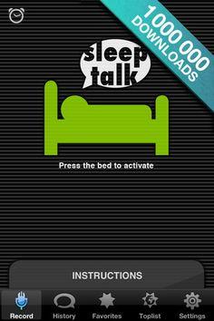 Sleep Talk Recorder - capturing your subconscious.