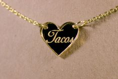 This necklace that will make your love of tacos official: | 21 Cute Gifts For Anyone Who Loves Mexican Food