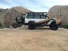 FJ80 Land Cruiser - for extended stay along the river