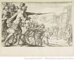 [La vie de Ferdinand Ier de Médicis]. [14], [Prise de la ville de Bône] : [estampe] / [Jacques Callot inc.] ; [Bernardino Poccetti inv.] - 1