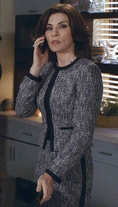 The Good Wife Season 5 Outfits, Explained by Costume Designer Daniel Lawson - Season 5, Episode 6: L.K. Bennett Suit from #InStyle