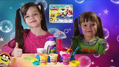 Пластилин для детей Плей До! Делаем тортики и печенья | Play Set Play-Do...