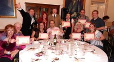 Moneypenny Murder Mystery Dinner at Down Hall Country House Hotel June 2014