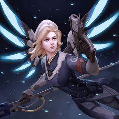 Overwatch - Medic Ziegler: Uprising Skin