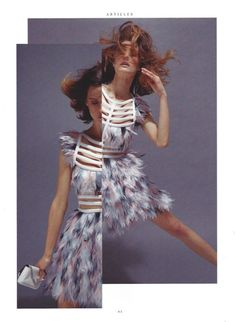 MRS. RAKE magazine editorial model: Angelika of MMG Models hair&makeup: Jojo Dantespadua photographer: Ethan Mann fashion director: Esther Quek copyright APP images