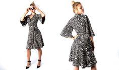 wrap kimono dress - lounge & out