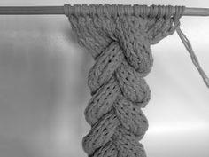 3 Strand Cable Braid Tutorial