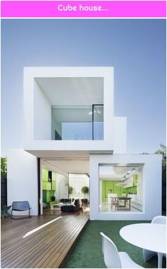 * Residential Architecture: Shakin Stevens House by Matt Gibson Architecture + Design - Architecture Minimalist House Design, Minimalist Decor, Build Dream Home, Architecture Résidentielle, Architecture Sketchbook, Architecture Graphics, Victorian Architecture, Architecture Portfolio, Contemporary Architecture