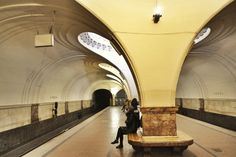 Sokol metro station in Moscow