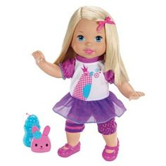 Little Mommy Talk With Me Repeating Doll by Mattel #KohlsDreamToys
