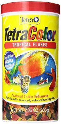 Tetra 16162 TetraColor Tropical Flakes, 7.06-Ounce, 1-Liter - http://darrenblogs.com/2015/12/tetra-16162-tetracolor-tropical-flakes-7-06-ounce-1-liter/
