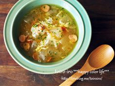 トロットロ★チーズ入り冬瓜のスープ Happy Colors, Japanese Food, Cheeseburger Chowder, Food And Drink, Soup, Lunch, Dinner, Cooking, Recipes