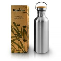 A stainless-steel water bottle is better for the health and the environment. Learn more about the BPA-free water bottle and how to avoid unnecessary plastic. 1 Liter Water Bottle, Best Water Bottle, Bpa Free Water Bottles, Insulated Water Bottle, Plastic Bottles, Bottled Water, Stainless Steel Straws, Stainless Steel Water Bottle, Drinking