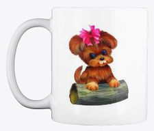 This Puppy dog coffee mug design is perfect for dog and coffee lovers. As a dog lover, you'll be proud to be seen enjoying your coffee from this mug. It's also available in other colors, and it is the perfect gift for your dog friends or family members. Dog Coffee, Coffee Lovers, Dog Lovers, Coffee Mugs, Unique Image, Mug Designs, Dog Friends, Dogs And Puppies, Your Dog