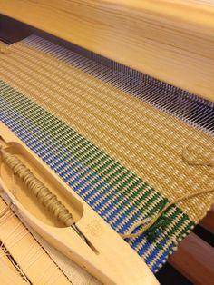 Plain Weave Mat/手織り/マット/textile/テキスタイル