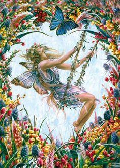 Sheila Wolk Art   Sheila Wolk - Fairies Fan Art (9585501) - Fanpop fanclubs