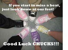 good  - luck - converse <3