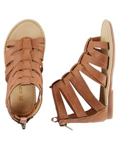 9ab1a07e136d Toddler Girl Carter s Gladiator Sandals from Carters.com. Shop clothing   amp  accessories from