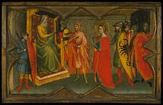 Giovanni di Bartolommeo Cristiani: Saint Lucy and Her Mother at ...