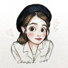 ✔ Aesthetic Drawing Sketches KoreanYou can find ilustration aesthetic and more on our website. Kpop Drawings, Cute Drawings, Drawing Sketches, Art And Illustration, Watercolor Illustration, Korean Art, Aesthetic Drawing, Cartoon Art Styles, Art Sketchbook