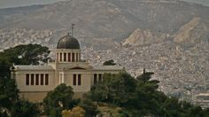 The National Observatory of Athens. Attica Greece, Athens Acropolis, Playlists, Taj Mahal, The Neighbourhood, Landscapes, Greek, Walking, City