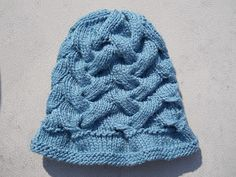 Knitting with Schnapps: Introducing An Embrace of Waves Hat!