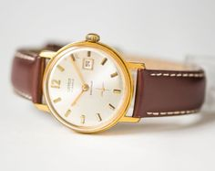 Minimalist men's wristwatch Cornavin  gold plated men by 4Rooms
