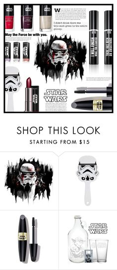 """~Star Wars~"" by dolly-valkyrie ❤ liked on Polyvore featuring beauty, Max Factor and starwars"