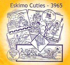Aunt Martha 3965 - Eskimo Cuties