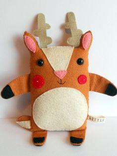 reindeer softie