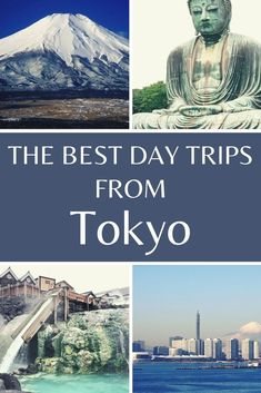 These are some of the best day trips from Tokyo you can do when you visit Japan. Including Mount Fuji. #Japan #Tokyo Japan Travel Guide, Tokyo Travel, Asia Travel, Travel Guides, Travel Tips, Travel Goals, Time Travel, Kyoto Day Trip, Day Trips From Tokyo
