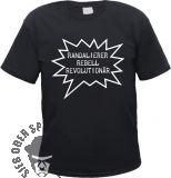 Randalierer Rebell Revolutionär T-Shirt