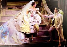 Laura Osnes and Santino Fontana: Cinderella Cinderella Broadway, Broadway Theatre, Laura Osnes, Bonnie N Clyde, Music Theater, Disney Princesses, Woman Crush, Screens, Musicals