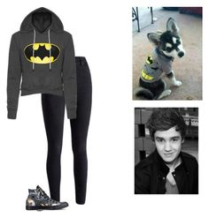 """Slight Batman Obsession  ~ Imagine In Description"" by hanakdudley ❤ liked on Polyvore featuring Payne, Converse and living room"