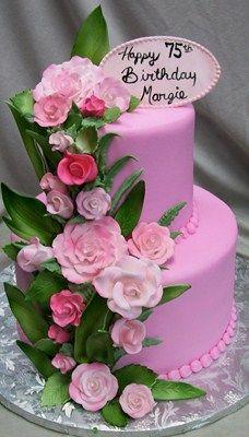 pretty pink cake!