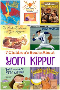7 Children's Books About Yom Kippur - These books about Yom Kippur are the perfect way to introduce your kids to this Jewish High Holiday, whether you celebrate or just want to learn more. Yom Kippur Activities, Yom Kippur Crafts, Best Children Books, Children Play, Teaching Kids, Kids Learning, Jewish High Holidays, Reading Lists, Book Lists
