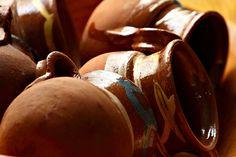 072-365-2013 Tazas de Barro Mexicano Leo, Stuffed Mushrooms, Porcelain, Pottery, Ceramics, Vegetables, Coffee Cup, Barbell, Mexican