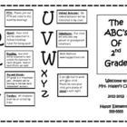 """Great resource to give to parents on """"Back to School"""" Night, parent teacher conferences, open houses and more! Great template created in Word so you can edit it to fit your needs! http://www.teacherspayteachers.com/Product/Back-to-School-Parent-Brochure-268018"""