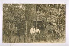 Charmian and Jack London at Wake Robin Lodge. c. 1905.