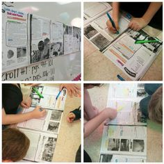 Here's a terrific post that explains how to use textmapping in your classroom.