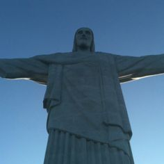 Corcovado, Rio de Janeiro, Brasil. Was looking up at him in January this year.