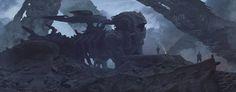 Battle sphinx, Alexey Egorov on ArtStation at https://www.artstation.com/artwork/WxG12