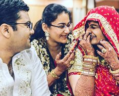 Every Indian wedding story in 9 pics: Ritika w/ Raunak 6/9 by thesquarerootofindia
