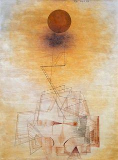 Paul Klee - Bounds of the Intellect Watercolor Artists, Watercolor Paintings, Oil Paintings, Painting Art, Modern Art, Contemporary Art, Paul Klee Art, Art Abstrait, Wassily Kandinsky