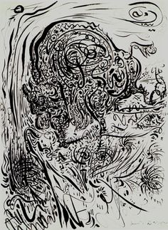 Andre Masson - automatist drawing