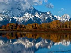 Mount Moran, Grand Teton National Park | Most Interesting Places of World