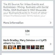 The ppl have spoken 15k likes on http://Facebook.com/blackfolkhotspots tell us at http://bfhsnetwork.com so we can share your events and business asap!