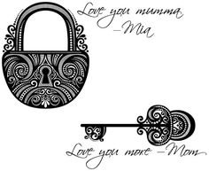 Maybe have the lock have two distinctive keyholes for two different keys