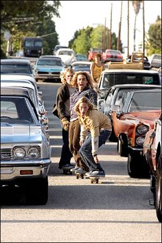 Lords of Dogtown....... Long haired bad boys